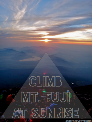 Climb Fuji