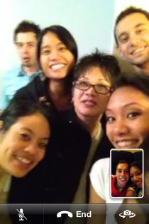 Thanksgiving via FaceTime