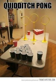 Quidditch Pong -- GENIUS!
