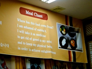 Meal Chant
