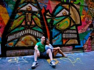 Graffiti in Melbourne, Australia