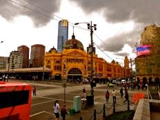 Flinder's Station, Melbourne, Australia