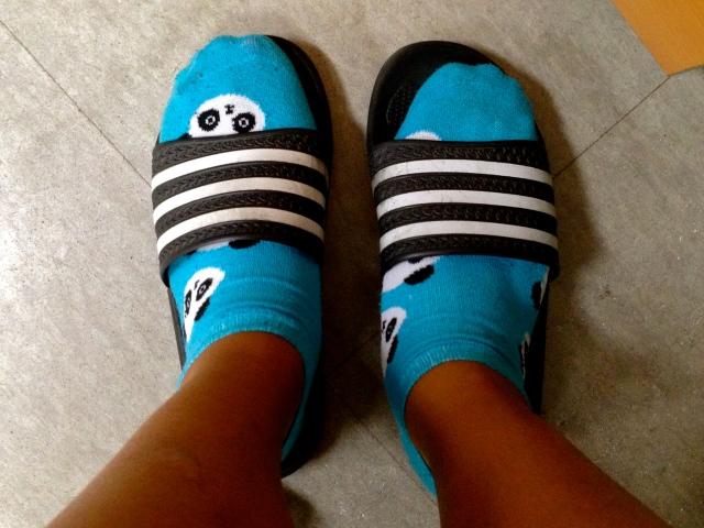 My School Slippers :)