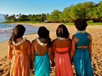 Wedding at White Rock (Palauea) Beach, Maui