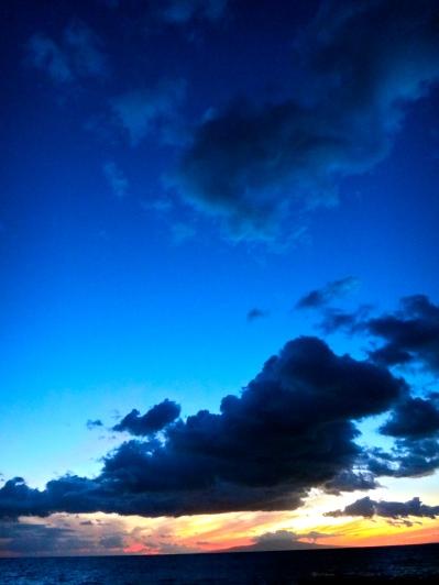 One of many Hawaiian sunsets