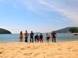 Beach Camping on Geoje Island