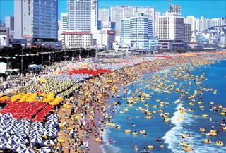 Haeundae Beach summer