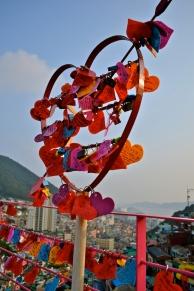 Love Locks at Gamcheon Village