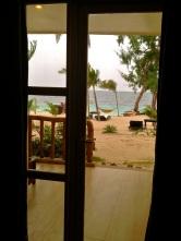 View from the front door